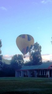 Ballon above Rothbury Escape